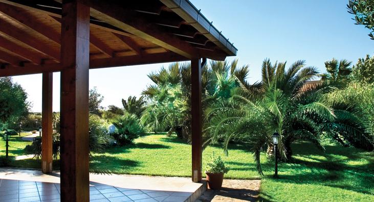 Ville i giardini san vito lo capo trapani vacanze in for Arredo ville e giardini